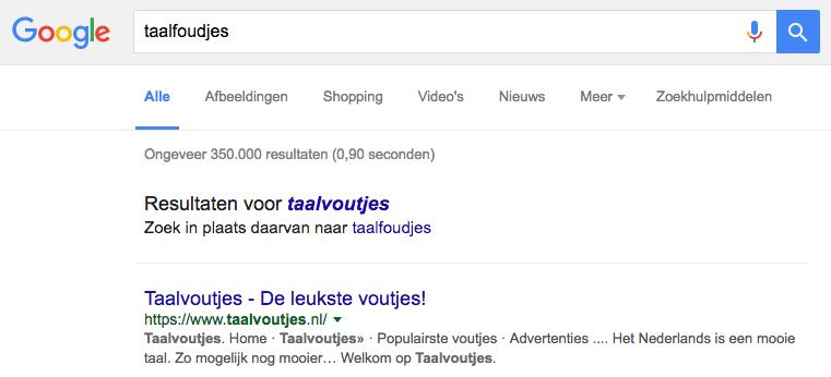 Wat te doen als Google je merk niet herkent?